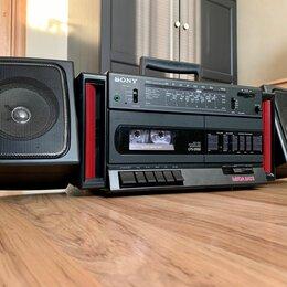 Музыкальные центры,  магнитофоны, магнитолы - Sony CFS-D550+сабвуфер (made in Japan) 87г, 0