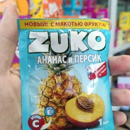 Ингредиенты для приготовления напитков - Растворимый напиток Zuko со вкусом персика и ананаса (Чили) 25 гр., 0