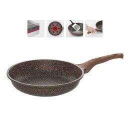Сковороды и сотейники - Сковорода Nadoba Greta 728616, 28 см, коричневый, 0