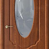 Межкомнатные двери - Дверь межкомнатная Каролина (экошпон), 0