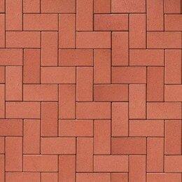 Тротуарная плитка, бордюр - Клинкерная брусчатка ABC-klinkergruppe Rot-nuanciert тротуарная, 0