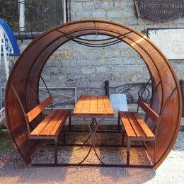 Комплекты садовой мебели - Арочная беседка из профильной трубы, 0