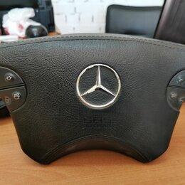 Система безопасности  -  подушка безопасности в руле мерседес benz, 0