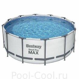 Бассейны - Бассейн bestway steel pro max 56418, 0