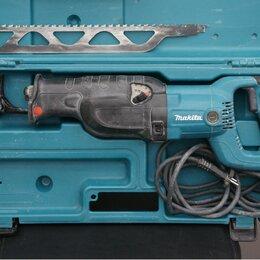 Пилы сабельные и электроножовки - Сабельная пила makita JR3060T в кейсе бу, 0