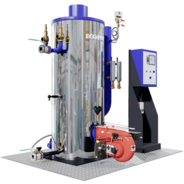 Парогенераторы - Промышленный парогенератор на солярке ECO-PAR-300, 0