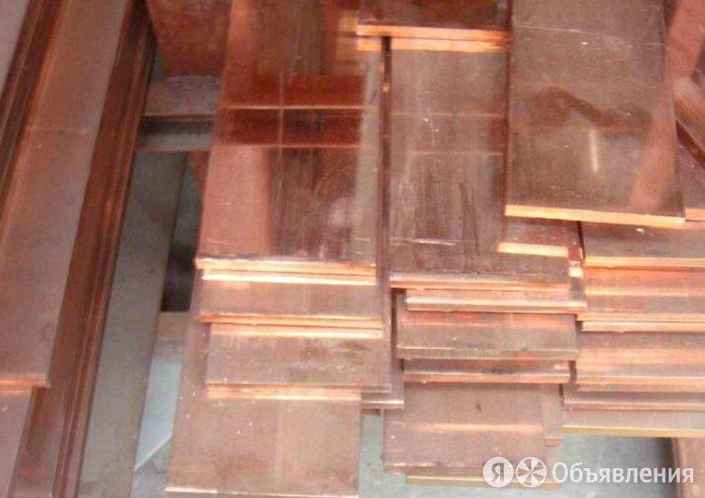Полоса медная 10х3 мм М1М ГОСТ 434-78 по цене 413₽ - Металлопрокат, фото 0