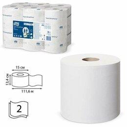 Туалетная бумага и полотенца - Бумага туалетная 112 м, TORK (Система T9) SmartOne, комплект 12 шт., Advanced..., 0