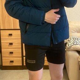 Пуховики - Мужская куртка зимняя синяя, 0