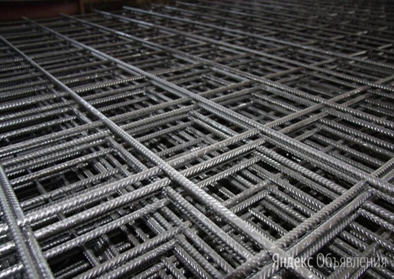 Сетка арматурная 250х100х12 мм А1 ГОСТ 23279-2012 по цене 38475₽ - Металлопрокат, фото 0
