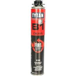 Изоляционные материалы - Пена монтажная пистолетная tytan b1 огнеупорная, 0