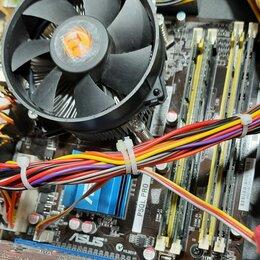 Материнские платы - Комплекты материнская плата процессор память lga 1155 lga 775, 0