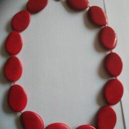 Колье и бусы - колье из красного коралла, 0