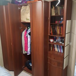 Шкафы, стенки, гарнитуры - Шкаф-стенка с угловым элементом шириной 2020 мм, 0