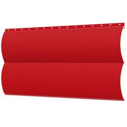 Сайдинг - Сайдинг металлический Блок-Хаус под бревно RAL3020 Красный, 0
