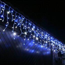 Уличное освещение - Светодиодная уличная гирлянда бахрома 6*0,8 м., 0
