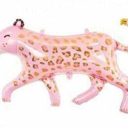 Новогодний декор и аксессуары - Шар Гепард розовый, 0