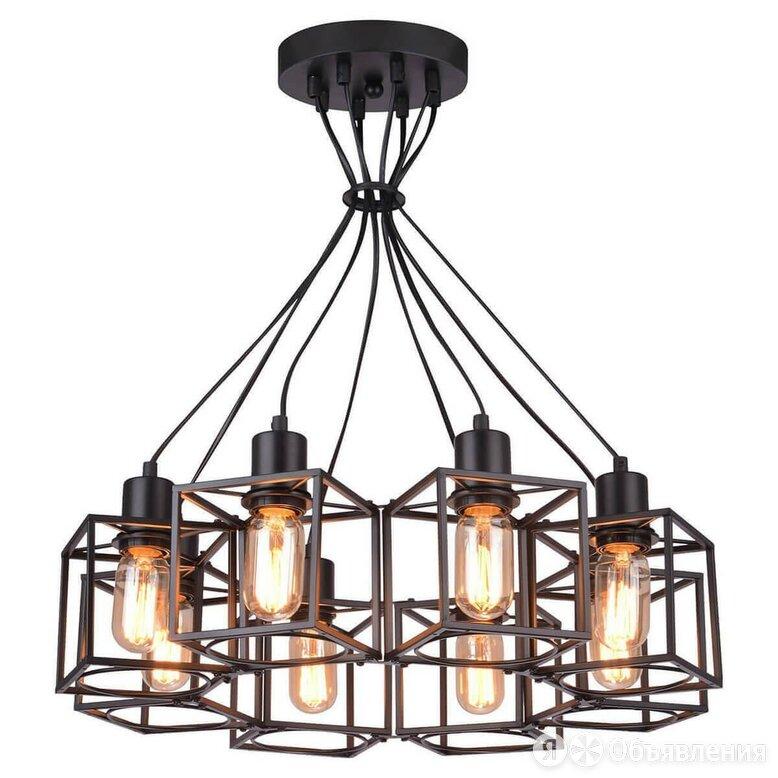 Подвесная люстра Lussole Loft LSP-9541 по цене 16914₽ - Люстры и потолочные светильники, фото 0