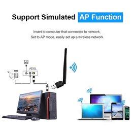 Оборудование Wi-Fi и Bluetooth - Usb wifi адаптер для тв приставки, 0