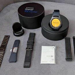 Умные часы и браслеты - Умные часы Samsung Gear S3 Frontier (NFC), 0