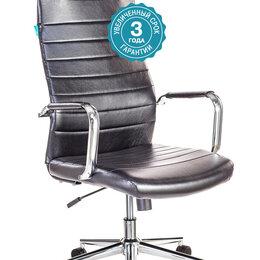 Компьютерные кресла - Бюрократ Кресло руководителя Бюрократ KB-9N/ECO черный искусственная кожа с п..., 0