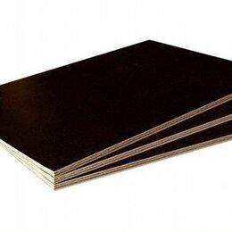 Древесно-плитные материалы - Фанера ламинированная 15, 18, 21 мм, 0