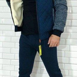 Спортивные костюмы - Мужской утеплённый спортивный костюм р-ры 46-56, 0