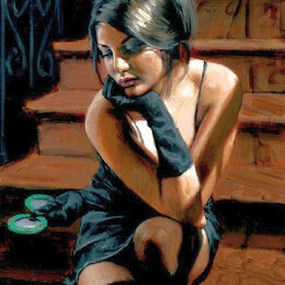 Новогодний декор и аксессуары - Девушка с зеркальцем Артикул : GX 30052, 0