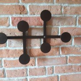 Вешалки настенные - Декоративная вешалка на стену, 0