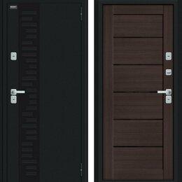 Входные двери - Входная дверь Thermo Техно Декор Букле черное Wenge Veralinga, 0