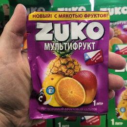 Ингредиенты для приготовления напитков - Растворимый напиток zuko мультифрукт 25 гр. чили, 0