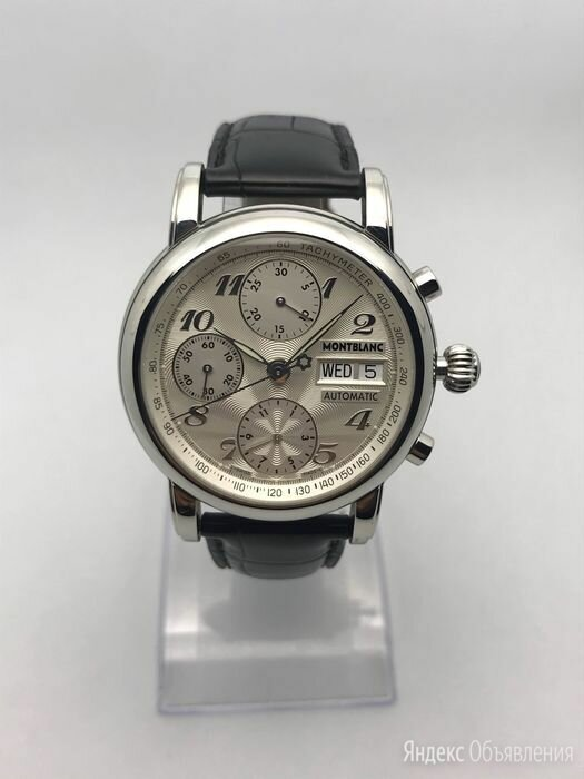 Montblanc Meisterstuck Automatic Chronograph 38mm 4810 по цене 113000₽ - Наручные часы, фото 0