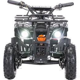 Электромобили - Детский электроквадроцикл MOTAX Mini Grizlik X-16 1000W Черный, 0