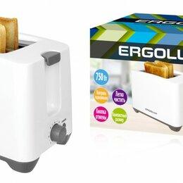 Микроволновые печи - Тостер ERGOLUX ELX-ET02-C31 750W двойной корпус, регулятор прожарки, поддон, ..., 0
