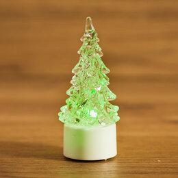"""Интерьерная подсветка - Фигура светодиодная """"Елочка маленькая"""" на подставке, RGB 501-041 Neon-Night, 0"""
