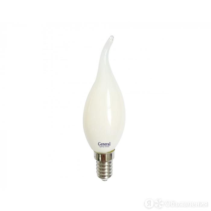 Лампа светодиодная FR FL CW37 8Вт Е14 2700К 530Лм 35x118мм GENERAL по цене 131₽ - Лампочки, фото 0