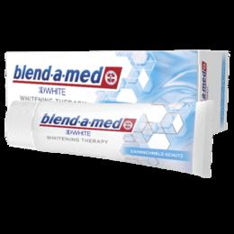 Зубная паста - Паста зубная Blend A Med 75мл 3D White Whitening Therapy Защита Эмали, 0