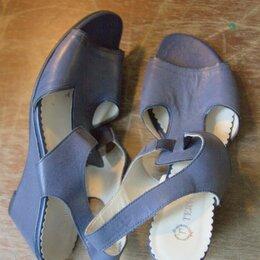 Босоножки - Синие босоножки Tervolina, 0