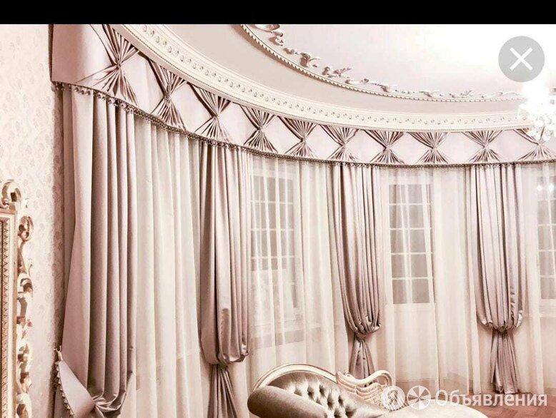 Услуга пошив штор, ламбрикен,  покрывало  по цене не указана - Дизайн, изготовление и реставрация товаров, фото 0