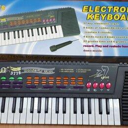 Детские музыкальные инструменты - Синтезатор электронный, 0