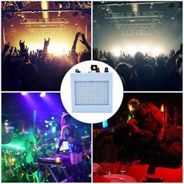Световое и сценическое оборудование - Музыкальный светодиодный стробоскоп LED 108 RGB, 0