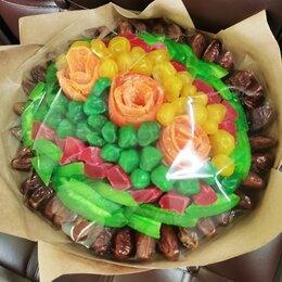 Цветы, букеты, композиции - Спиральный букет из сухофруктов, 0