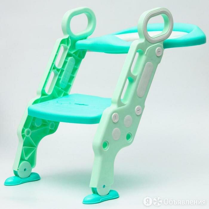 Детское сиденье на унитаз 'Абстракция', цвет зеленый по цене 2882₽ - Комплектующие, фото 0