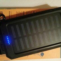 Универсальные внешние аккумуляторы - Повер банк на солнечной батарее 35000 мач , 0