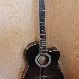 Акустические и классические гитары - Гитара euphony ew-100 cbkeq, 0