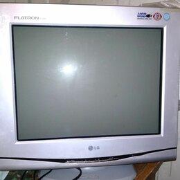 Мониторы - Монитор lg старый квадратный, 0