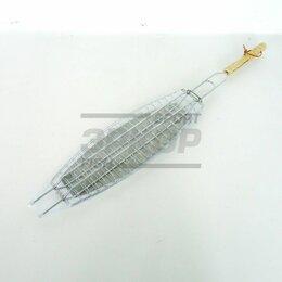 Решетки - Решётка-гриль Biostyle походная для приготовления рыбы 35х11 см, 0