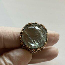 Кольца и перстни - Кольцо с камнем аквамарин , 0