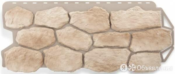 """Фасадные панели Альта Профиль Коллекция """"Бутовый камень"""", цвет Нормандский по цене 699₽ - Фасадные панели, фото 0"""