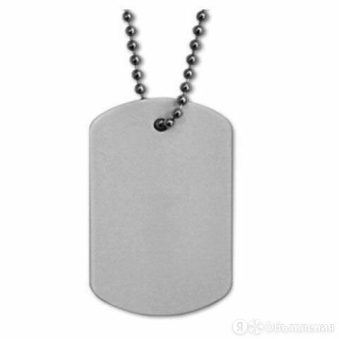 Армейский жетон Металлик по цене 300₽ - Брелоки и ключницы, фото 0